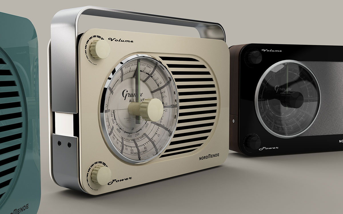 3D CAD Modelling - Radio